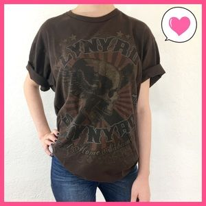 Tops - Lynyrd Skynyrd Sweet Home Alabama 1974 band tee L